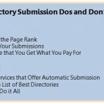 Directory Submission Dos and Don'ts