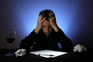 A frustrated writer