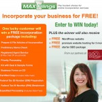 Win a Free Business Incorporation and Website Starter Package!