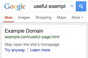 Google-faulty-redirect-in-search