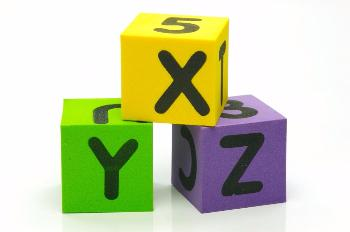 Letters X, Y, Z