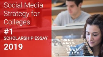 college social media strategy essay contest winner