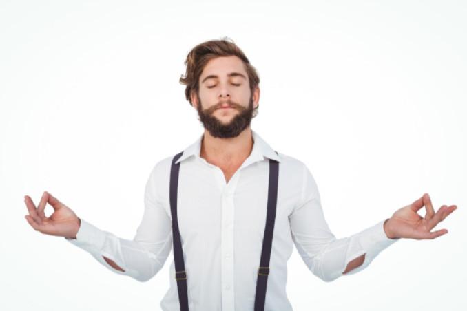 hipster meditating, SEO-e SEO Tips Blog