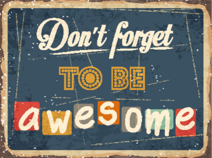Don't forget to be awesome: SEO-e Client Management Blog